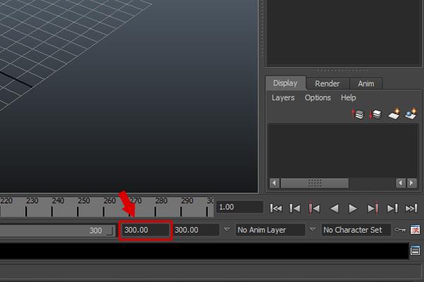 Przygotowanie timeline sceny do renderingu